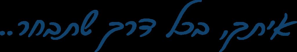 """לוגיסטיקה מתקדמת אחסנה ומסופים משפט מהלוגו של קבוצת מילניום לוגיסטיקה מתקדמת """"איתך בכל דרך שתבחר"""""""